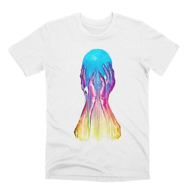 LAZY EYE Men's T-Shirt by Alex Pardee's BRIGHTMARES