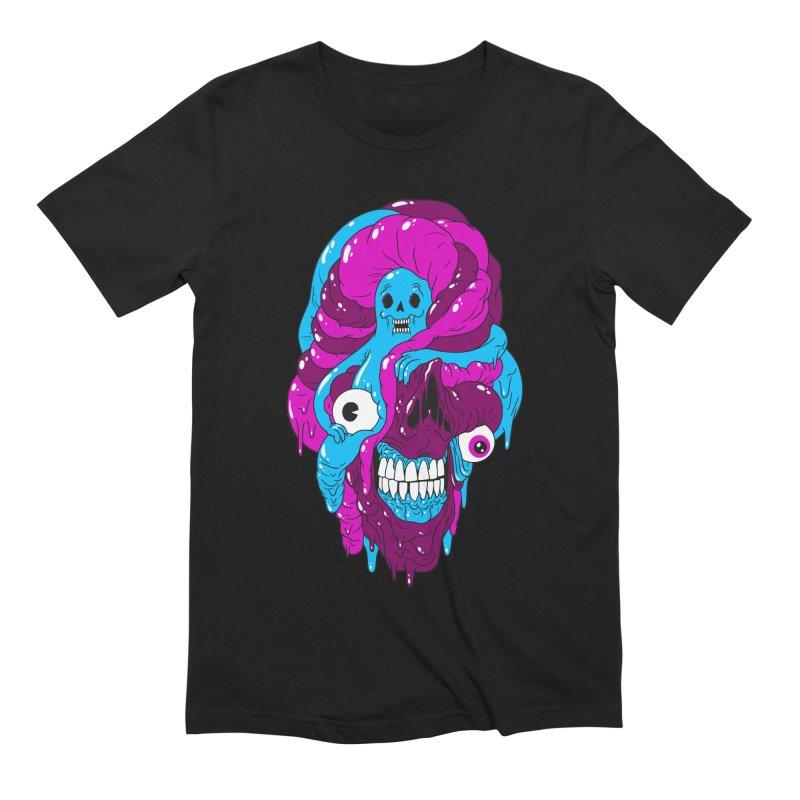 JELLY BELLY Men's T-Shirt by Alex Pardee's BRIGHTMARES