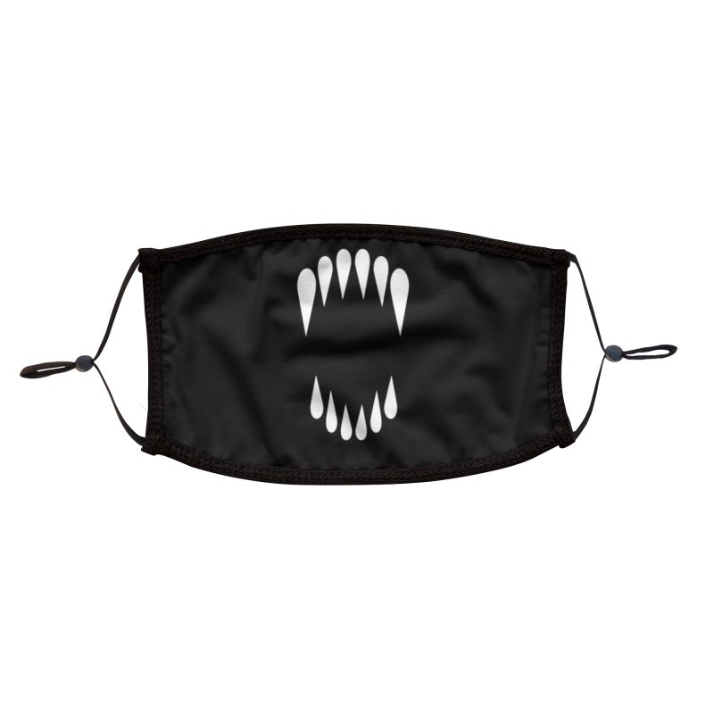 Brightmare MOUTH Accessories Face Mask by Alex Pardee's BRIGHTMARES