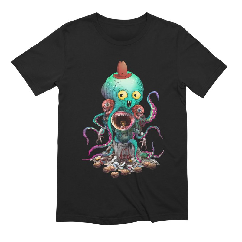 BARTLBY & BEETH (BLACK) Men's T-Shirt by Alex Pardee's BRIGHTMARES