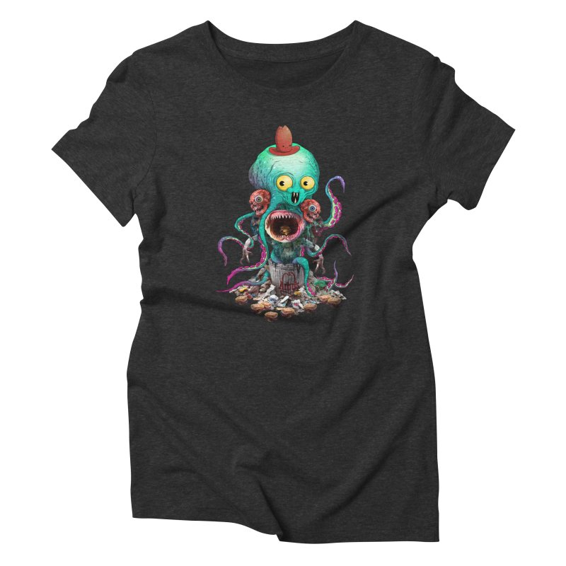 BARTLBY & BEETH (BLACK) Women's T-Shirt by Alex Pardee's BRIGHTMARES