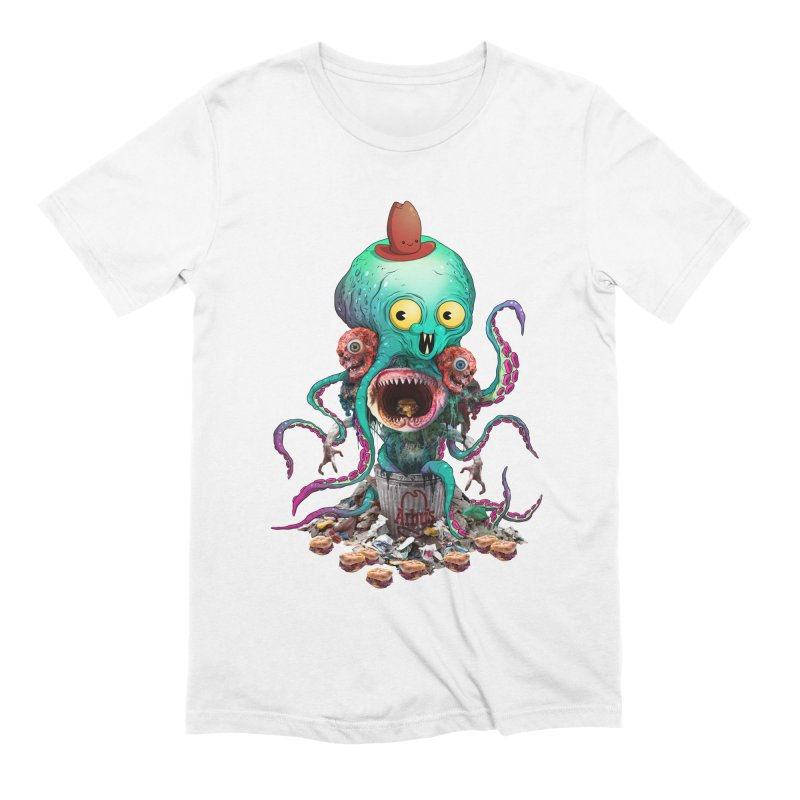 BARTLBY & BEETH (WHITE) Men's T-Shirt by Alex Pardee's BRIGHTMARES