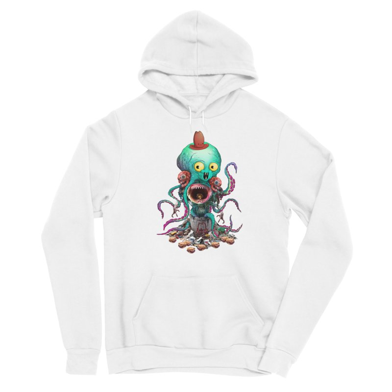 BARTLBY & BEETH (WHITE) Women's Pullover Hoody by Alex Pardee's BRIGHTMARES