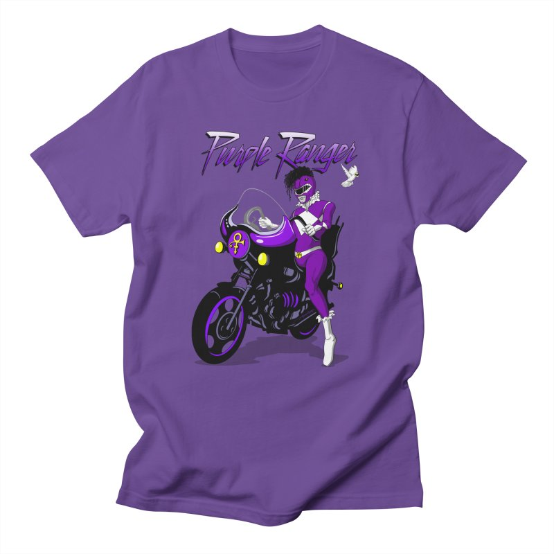 PURPLE RANGER Men's T-shirt by Alex Pardee's Land Of Confusion