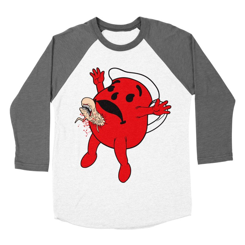 KOOL IRONY Men's Baseball Triblend Longsleeve T-Shirt by Alex Pardee's Land Of Confusion