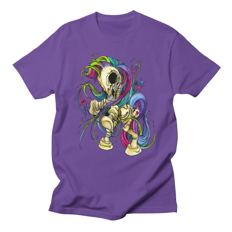 MY LITTLE BONY Men's Regular T-Shirt by Alex Pardee's Land Of Confusion