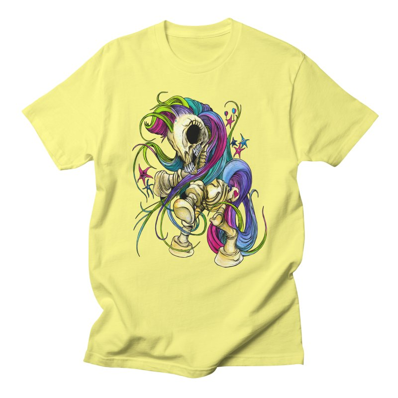 MY LITTLE BONY Men's T-Shirt by Alex Pardee's Land Of Confusion