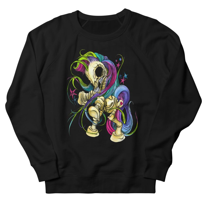 MY LITTLE BONY Men's Sweatshirt by Alex Pardee's Land Of Confusion