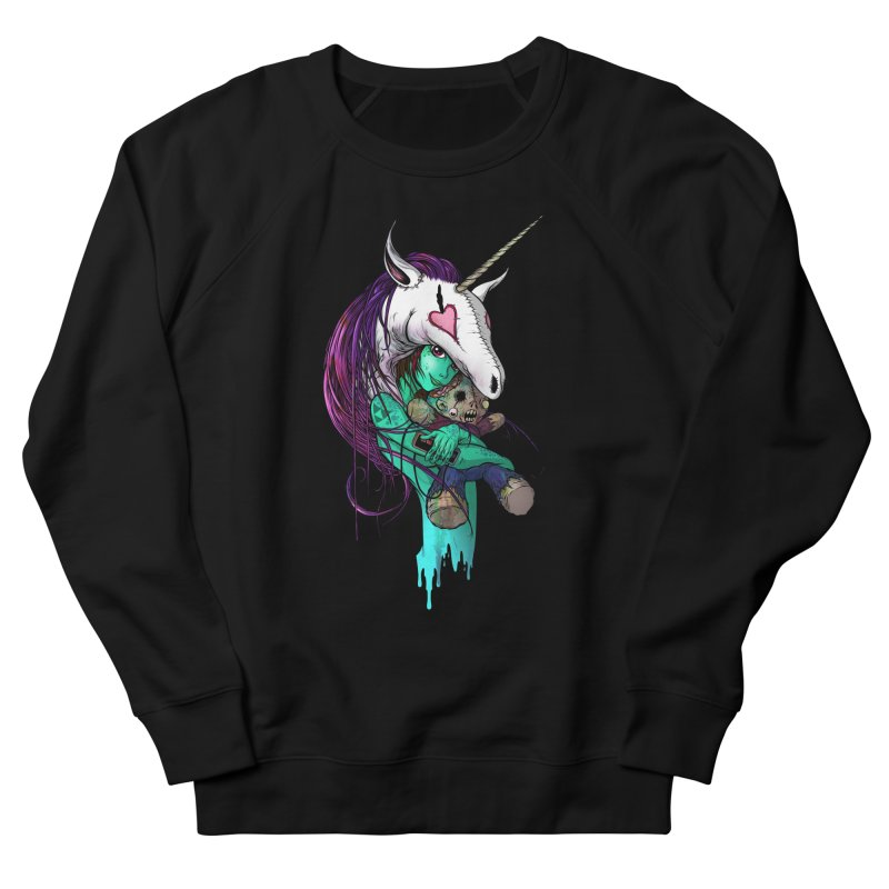 DREAMGIRL Women's French Terry Sweatshirt by Alex Pardee's Land Of Confusion