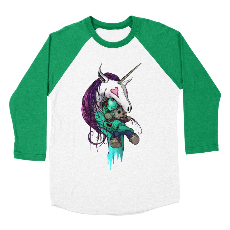 DREAMGIRL Women's Baseball Triblend Longsleeve T-Shirt by Alex Pardee's Land Of Confusion