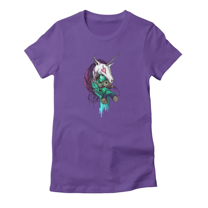 DREAMGIRL Women's T-Shirt by Alex Pardee's Land Of Confusion