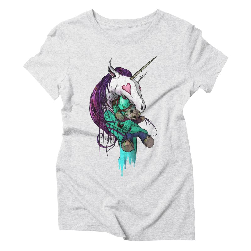 DREAMGIRL Women's Triblend T-Shirt by Alex Pardee's Land Of Confusion