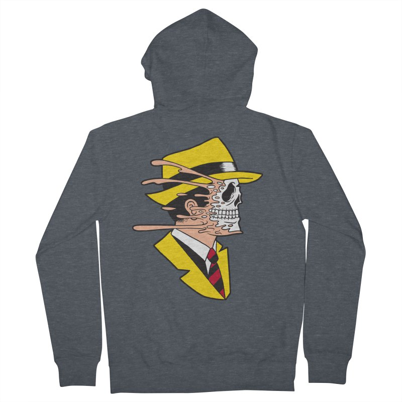 DICK TRACING Men's Zip-Up Hoody by Alex Pardee's Land Of Confusion