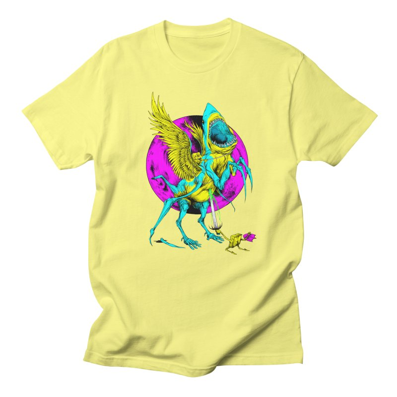 SHARKASUS Men's T-Shirt by Alex Pardee's Land Of Confusion