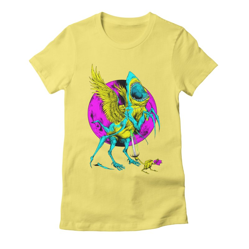 SHARKASUS Women's T-Shirt by Alex Pardee's Land Of Confusion