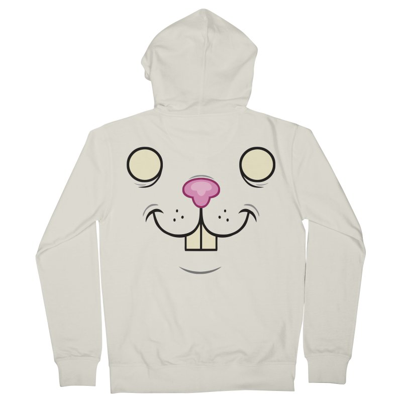 BUNNYWITH Women's French Terry Zip-Up Hoody by Alex Pardee's Land Of Confusion