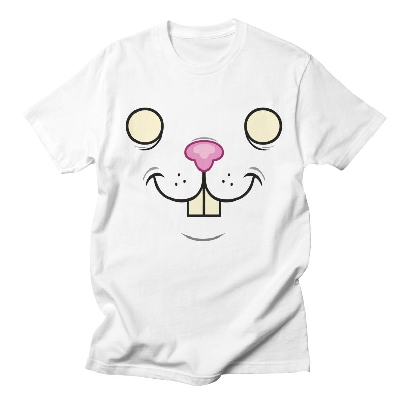 BUNNYWITH Men's Regular T-Shirt by Alex Pardee's Land Of Confusion