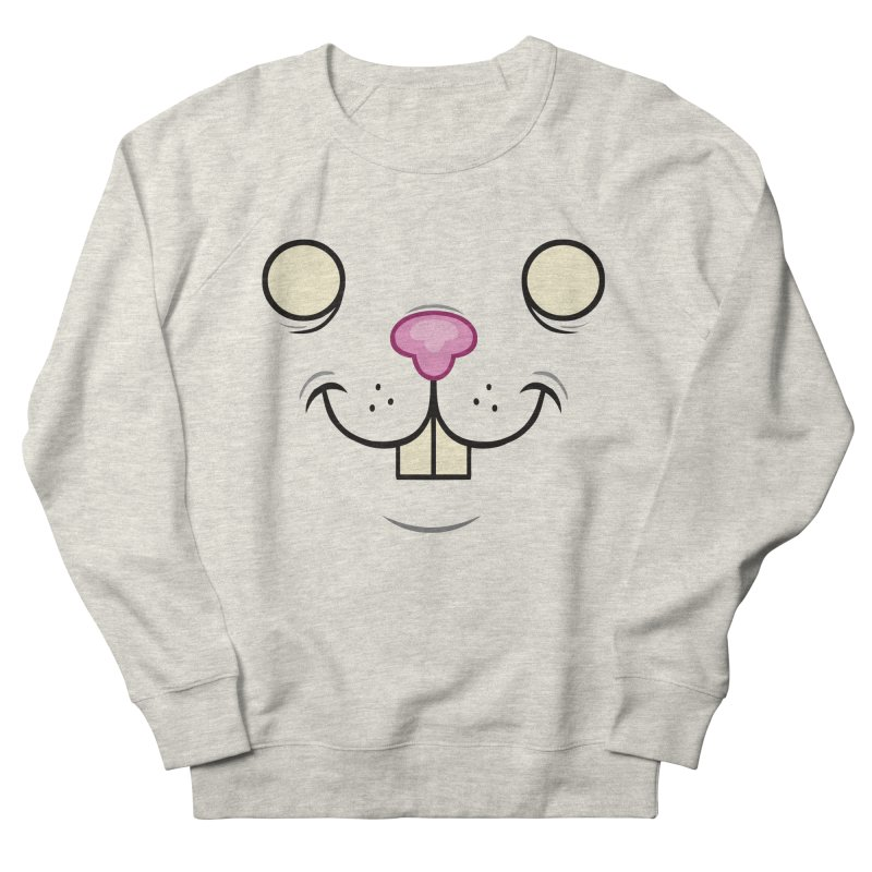 BUNNYWITH Women's French Terry Sweatshirt by Alex Pardee's Land Of Confusion