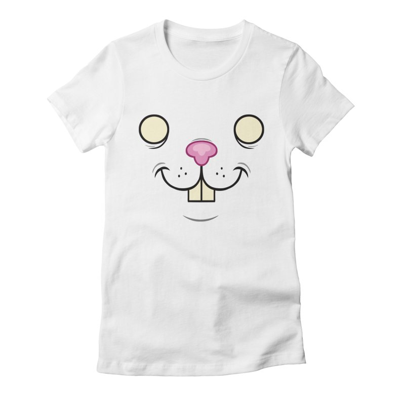 BUNNYWITH Women's T-Shirt by Alex Pardee's BRIGHTMARES
