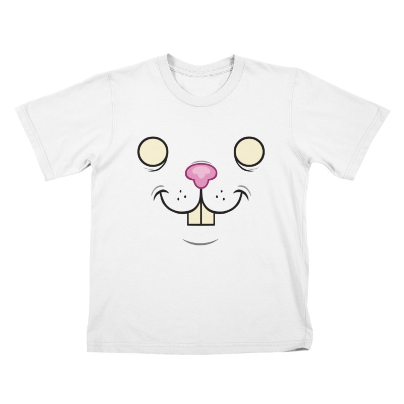 BUNNYWITH Kids T-Shirt by Alex Pardee's Land Of Confusion