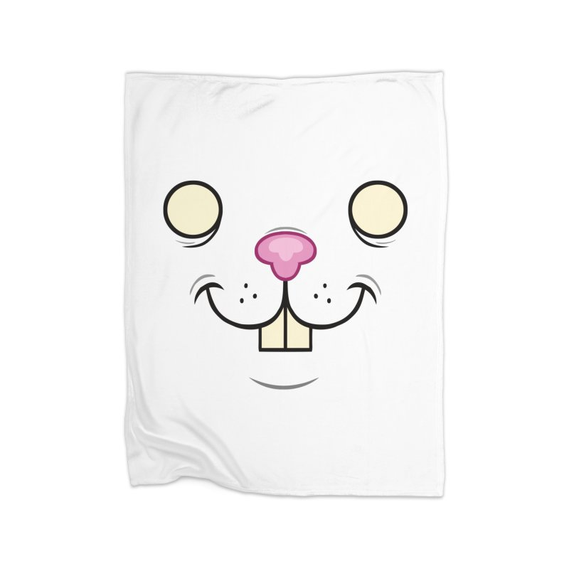 BUNNYWITH Home Blanket by Alex Pardee's BRIGHTMARES