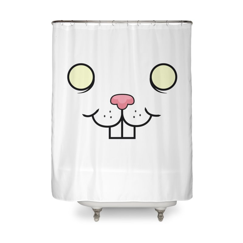 BUNNYWITH Home Shower Curtain by Alex Pardee's BRIGHTMARES