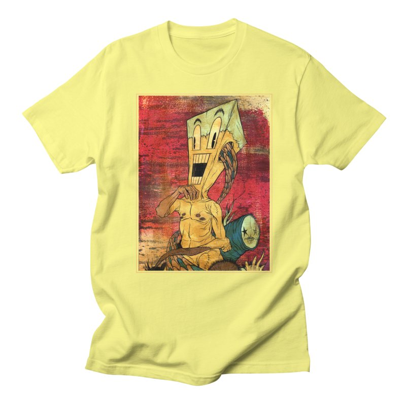 THE PATIENT Men's Regular T-Shirt by Alex Pardee's Land Of Confusion