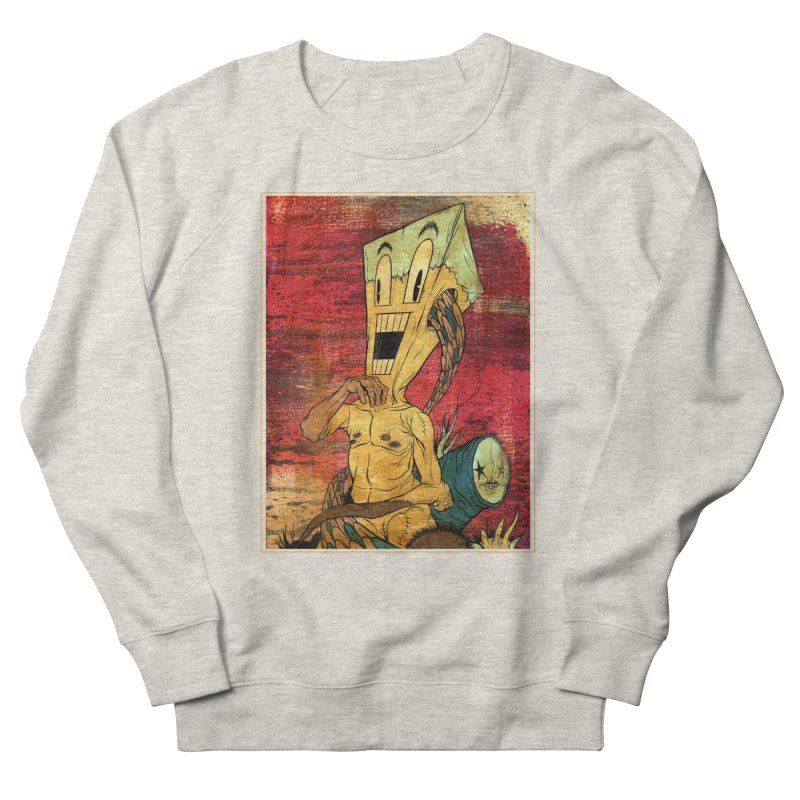 THE PATIENT Men's Sweatshirt by Alex Pardee's Land Of Confusion