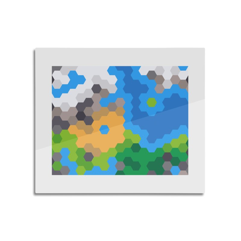 One More Turn! Home Mounted Aluminum Print by Alex Stanlake's Artist Shop