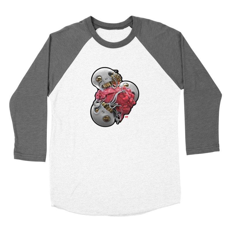 Brainiac Women's Baseball Triblend Longsleeve T-Shirt by AD Apparel