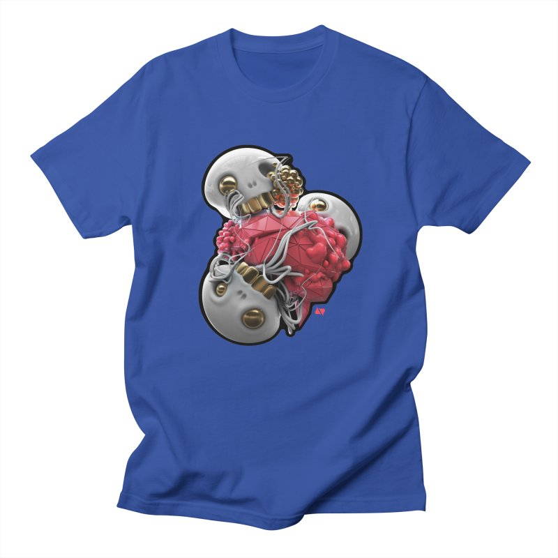 Brainiac Men's Regular T-Shirt by AD Apparel
