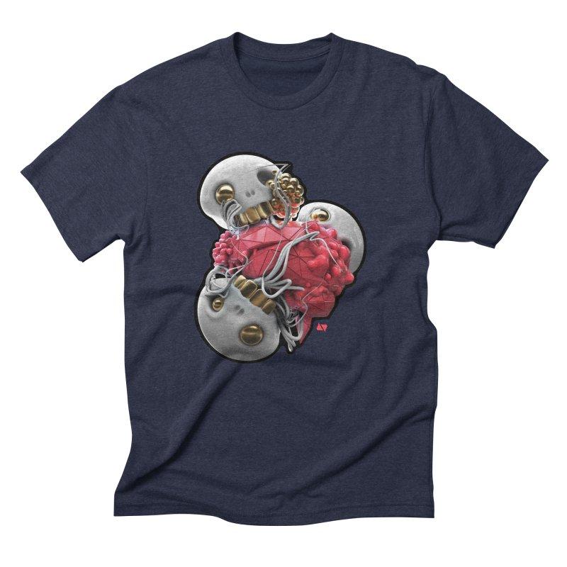 Brainiac Men's Triblend T-Shirt by AD Apparel