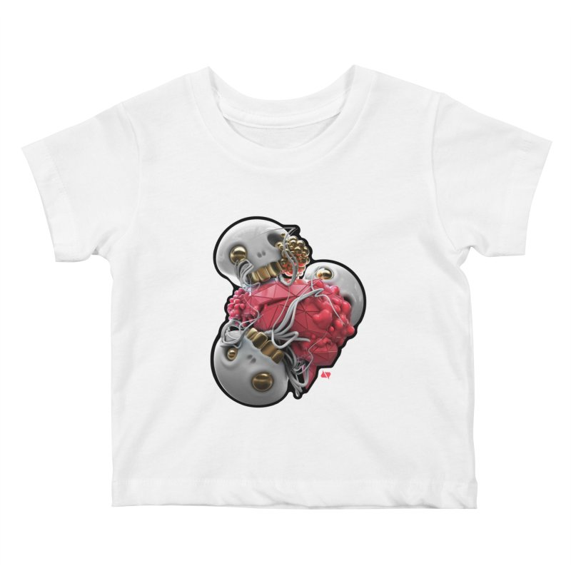 Brainiac Kids Baby T-Shirt by AD Apparel