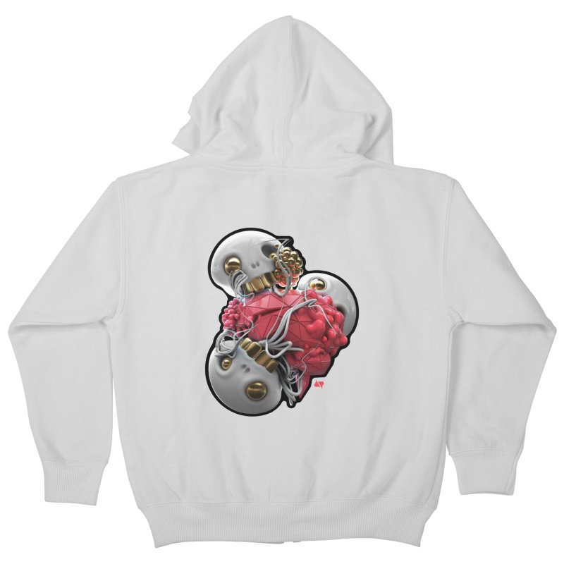 Brainiac Kids Zip-Up Hoody by AD Apparel