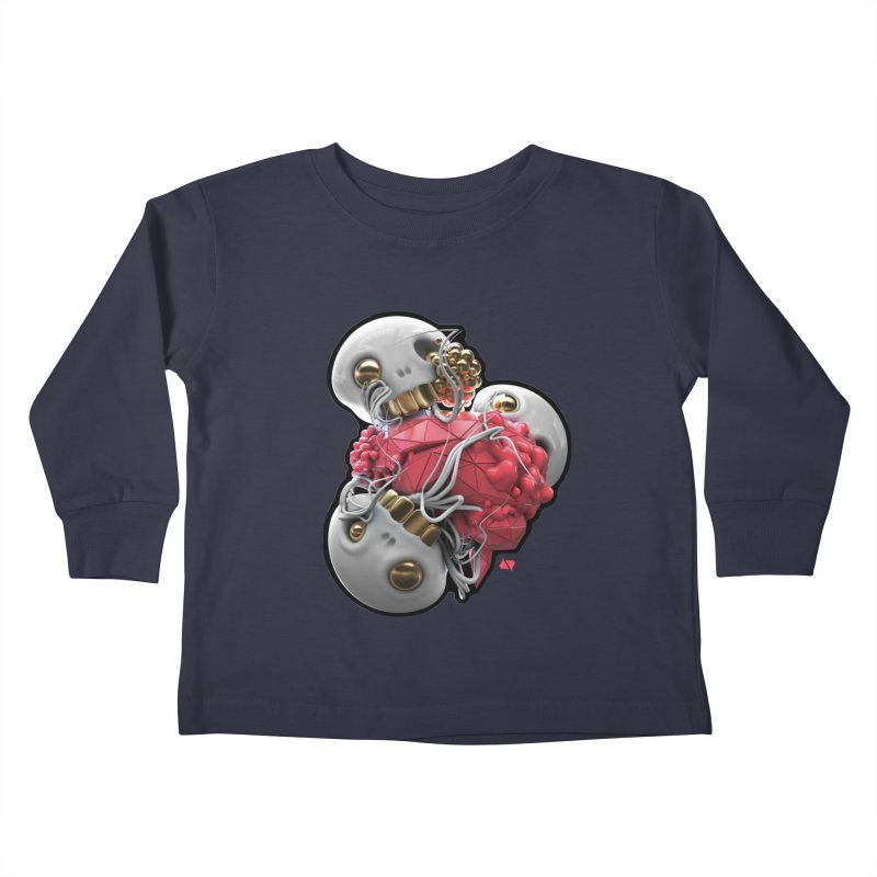 Brainiac Kids Toddler Longsleeve T-Shirt by AD Apparel