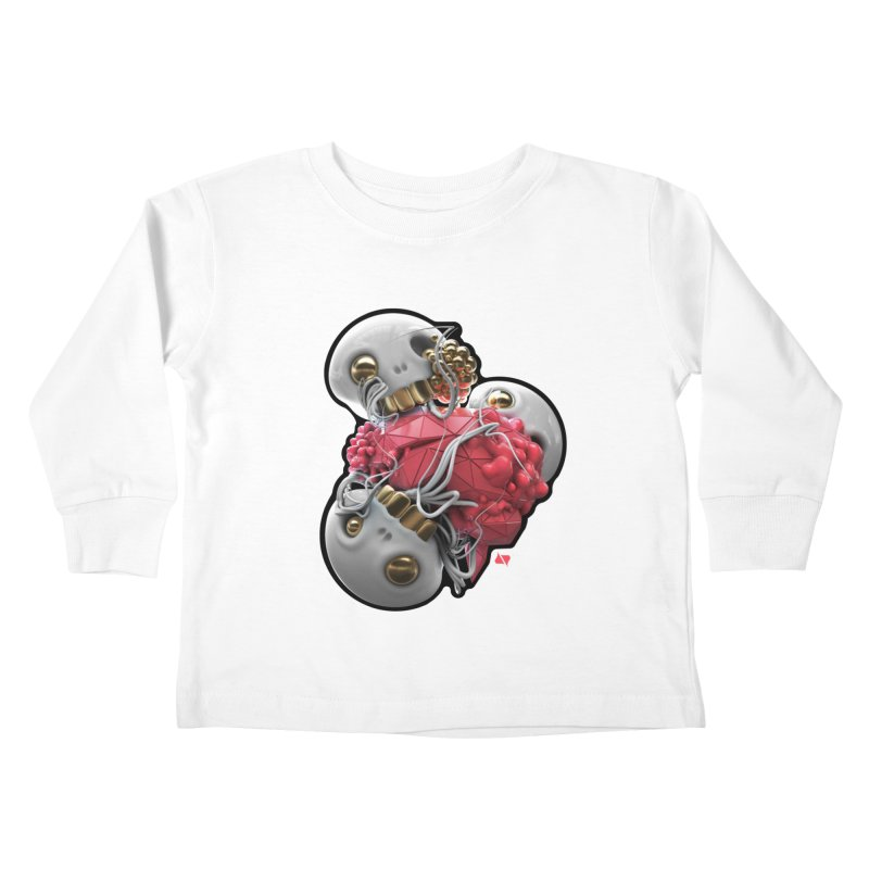 Brainiac Kids Toddler Longsleeve T-Shirt by AD Apparel
