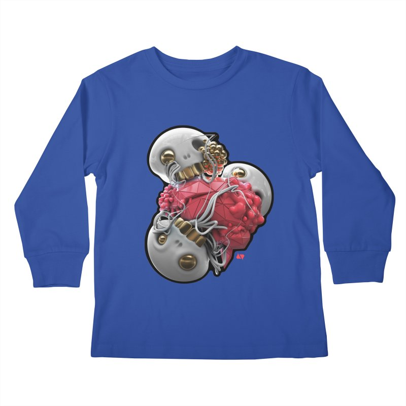 Brainiac Kids Longsleeve T-Shirt by AD Apparel