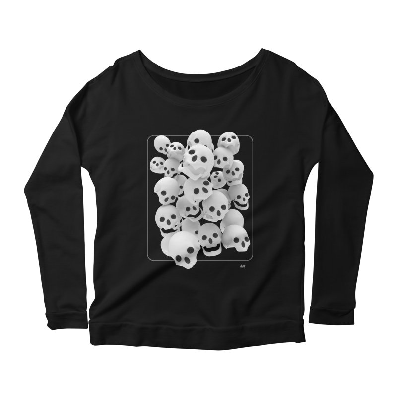 Immortalized Women's Scoop Neck Longsleeve T-Shirt by AD Apparel