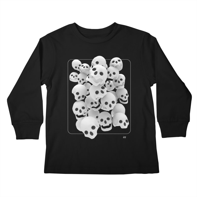 Immortalized Kids Longsleeve T-Shirt by AD Apparel