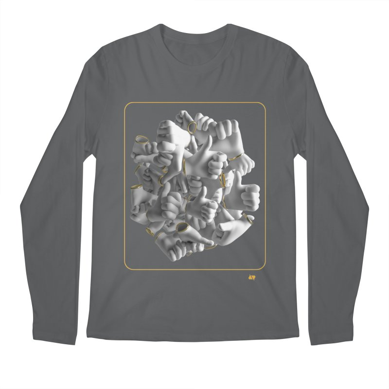 Approval Men's Longsleeve T-Shirt by AD Apparel