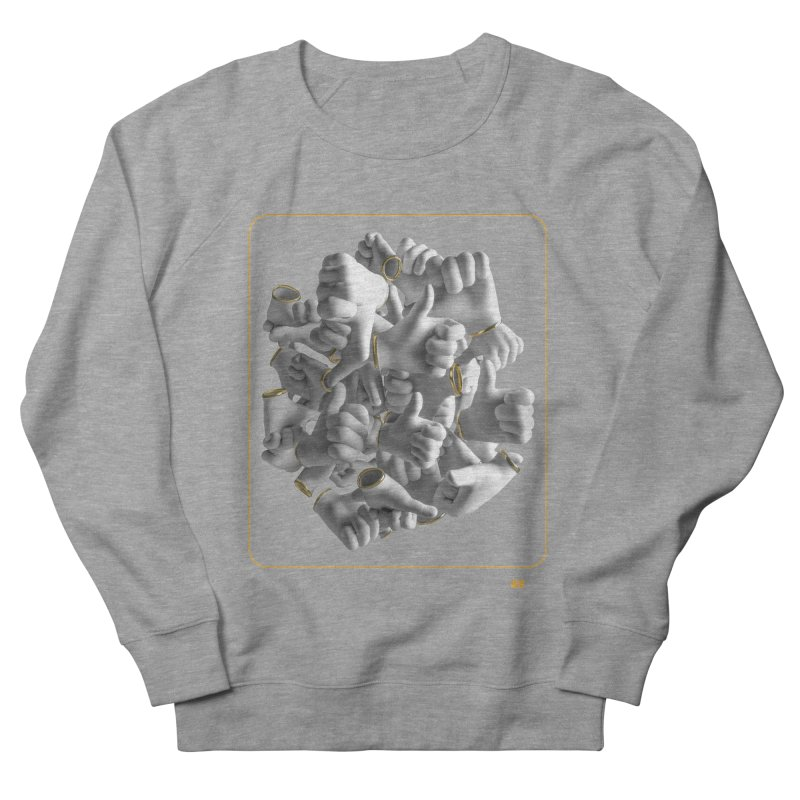 Approval Men's French Terry Sweatshirt by AD Apparel