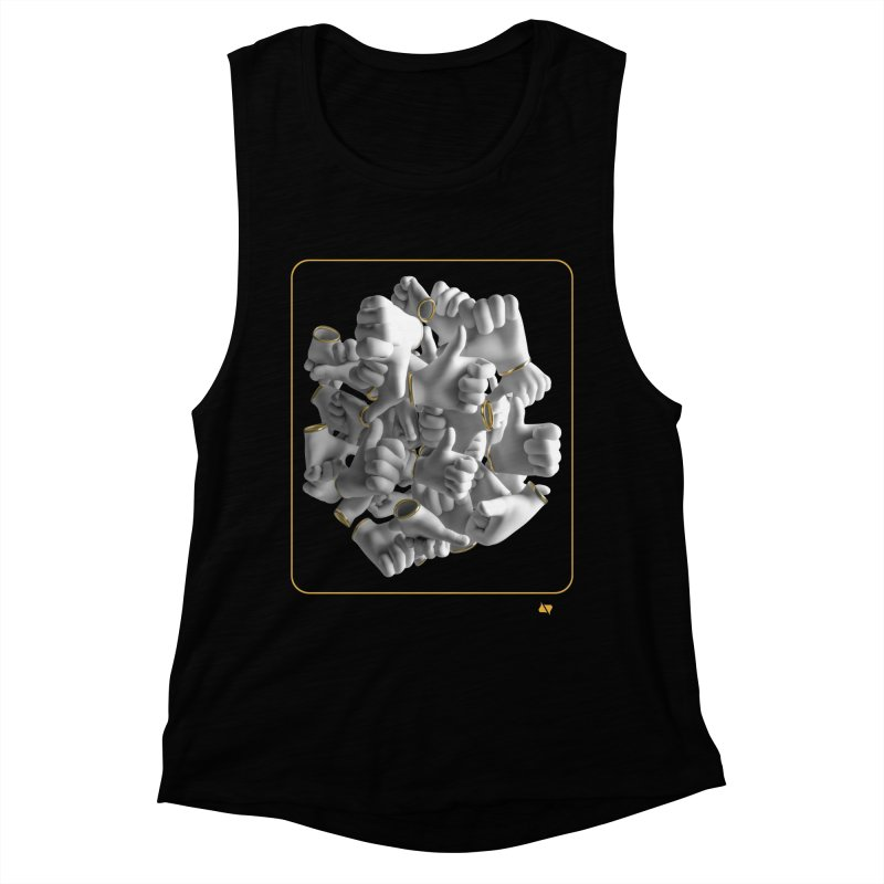Approval Women's Muscle Tank by AD Apparel