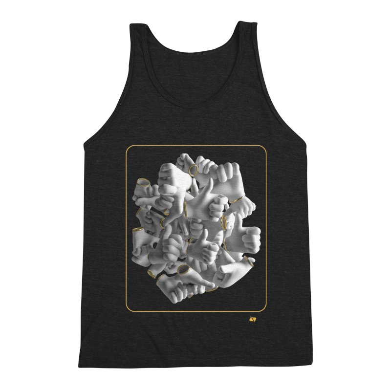 Approval Men's Triblend Tank by AD Apparel