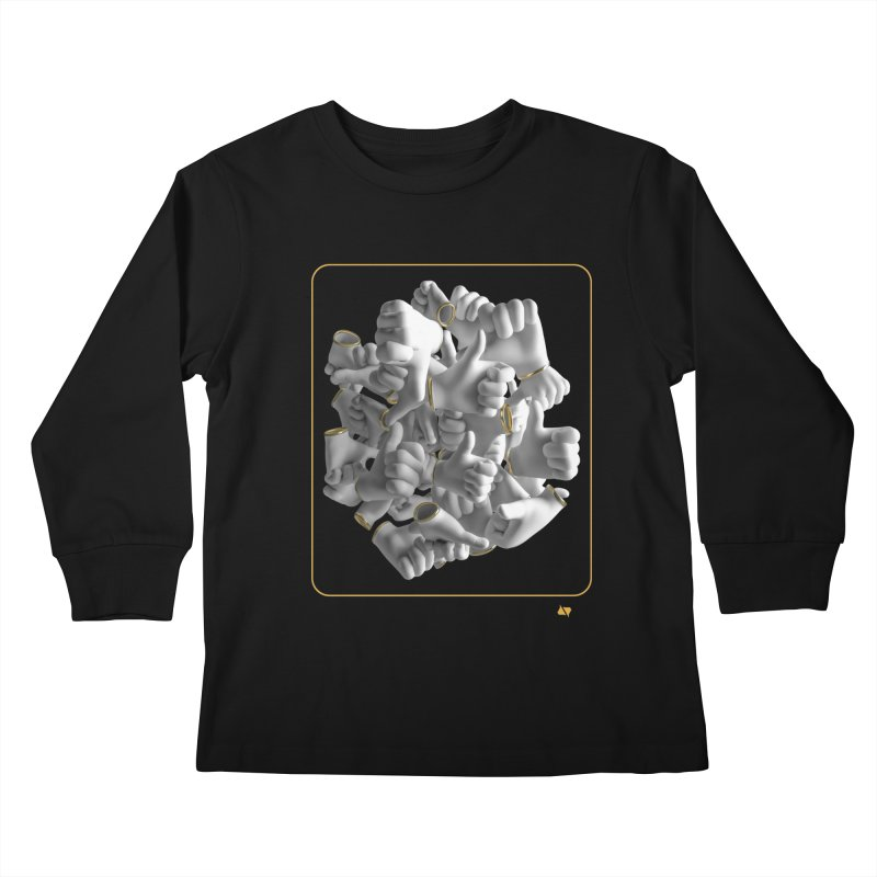 Approval Kids Longsleeve T-Shirt by AD Apparel