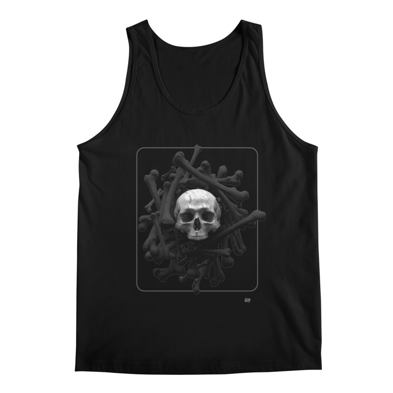 Decorated Cap'n Men's Regular Tank by AD Apparel