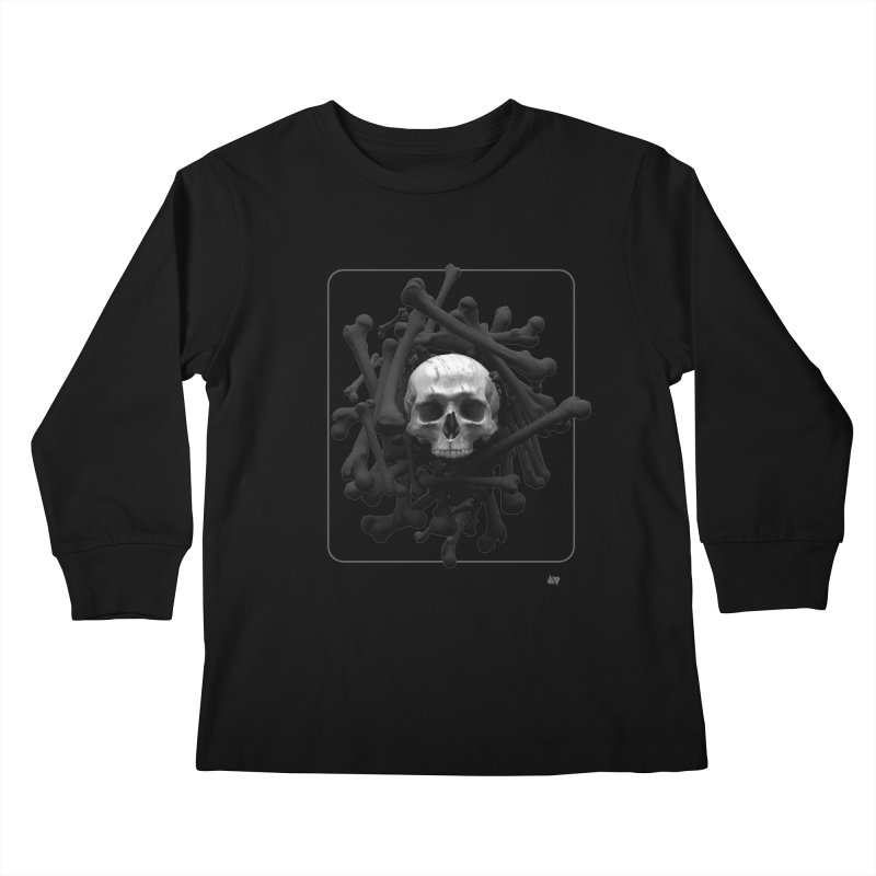 Decorated Cap'n Kids Longsleeve T-Shirt by AD Apparel