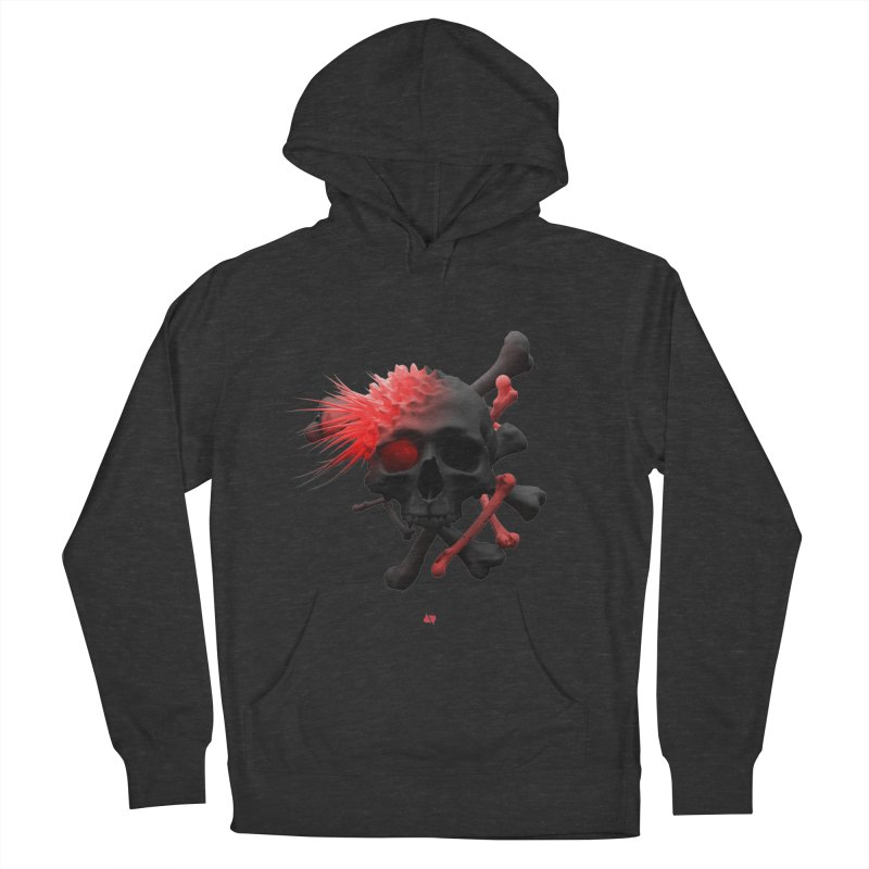 Angry Cap'n Men's Pullover Hoody by AD Apparel