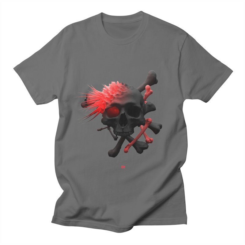 Angry Cap'n Women's Regular Unisex T-Shirt by AD Apparel