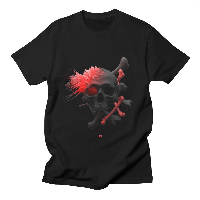 Angry Cap'n Men's Regular T-Shirt by AD Apparel