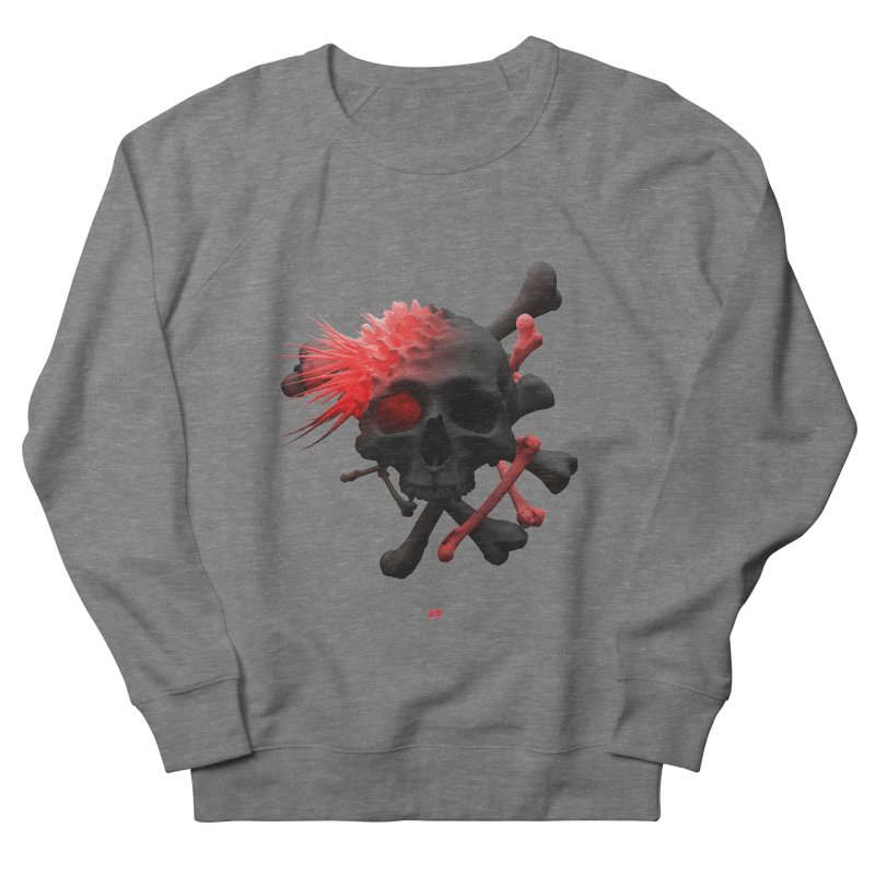 Angry Cap'n Women's French Terry Sweatshirt by AD Apparel